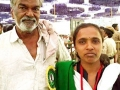 Devanur with annadaa Nalini gowda